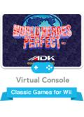 World Heroes Perfect Wii Front Cover
