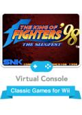 The King of Fighters '98: The Slugfest Wii Front Cover