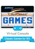 California Games Wii Front Cover