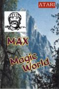 MAX / Magic World Atari 8-bit Front Cover