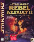 Star Wars: Rebel Assault II - The Hidden Empire DOS Front Cover