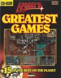 Apogee's Greatest Games DOS Front Cover