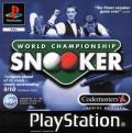 World Championship Snooker PlayStation Front Cover