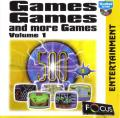 Games Games And More Games: Volume 1 Windows Front Cover