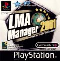 LMA Manager 2001 PlayStation Front Cover