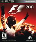 F1 2011 PlayStation 3 Front Cover