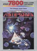 Asteroids Atari 7800 Front Cover