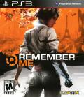 Remember Me PlayStation 3 Front Cover