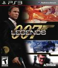 007: Legends PlayStation 3 Front Cover