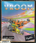 Vroom Atari ST Front Cover