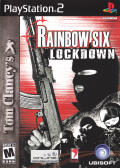 Tom Clancy's Rainbow Six: Lockdown PlayStation 2 Front Cover