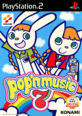pop'n music 7 PlayStation 2 Front Cover