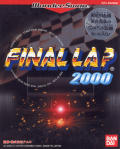 Final Lap 2000 WonderSwan Front Cover