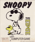 Snoopy: The Cool Computer Game DOS Front Cover