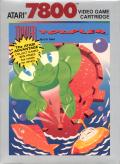 Tower Toppler Atari 7800 Front Cover