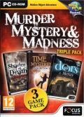 Murder, Mystery & Madness Triple Pack Windows Front Cover