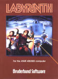 Labyrinth Apple II Front Cover