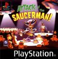 Attack of the Saucerman! PlayStation Front Cover