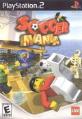Soccer Mania PlayStation 2 Front Cover