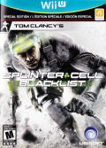 Tom Clancy's Splinter Cell: Blacklist (Special Edition) Wii U Front Cover