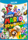 Super Mario 3D World Wii U Front Cover 1st version