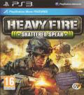 Heavy Fire: Shattered Spear PlayStation 3 Front Cover