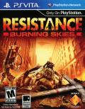 Resistance: Burning Skies PS Vita Front Cover