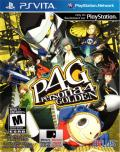 Persona 4 Golden PS Vita Front Cover