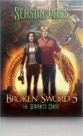 Broken Sword 5: The Serpent's Curse Linux Front Cover 1st version