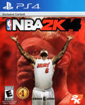 NBA 2K14 PlayStation 4 Front Cover