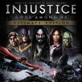 Injustice: Gods Among Us - Ultimate Edition PlayStation 4 Front Cover