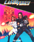 Laser Force Apple IIgs Front Cover