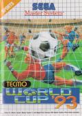 Tecmo World Cup '93 SEGA Master System Front Cover