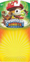 Skylanders Giants: Shroomboom (LightCore) Nintendo 3DS Front Cover