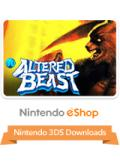 Altered Beast Nintendo 3DS Front Cover