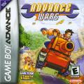 Advance Wars Game Boy Advance Front Cover