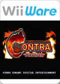 Contra ReBirth Wii Front Cover