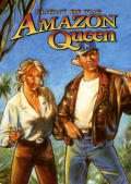 Flight of the Amazon Queen Macintosh Front Cover 1st version