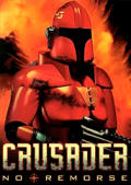 Crusader: No Remorse Macintosh Front Cover 1st version