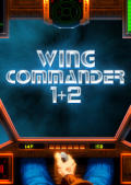 Wing Commander 1+2 Macintosh Front Cover 1st version