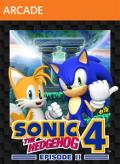 Sonic the Hedgehog 4: Episode II Xbox 360 Front Cover