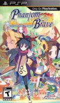 Phantom Brave: The Hermuda Triangle PSP Front Cover