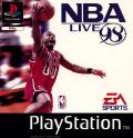 NBA Live 98 PlayStation Front Cover