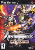 Samurai Warriors: Xtreme Legends PlayStation 2 Front Cover
