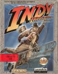 Indiana Jones and The Fate of Atlantis: The Action Game Commodore 64 Front Cover