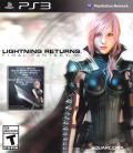 Lightning Returns: Final Fantasy XIII PlayStation 3 Front Cover
