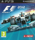 F1 2012 PlayStation 3 Front Cover
