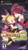 Disgaea 2: Dark Hero Days PSP Front Cover