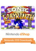 Sonic Labyrinth Nintendo 3DS Front Cover