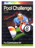 Minnesota Fats' Pool Challenge Commodore 64 Front Cover